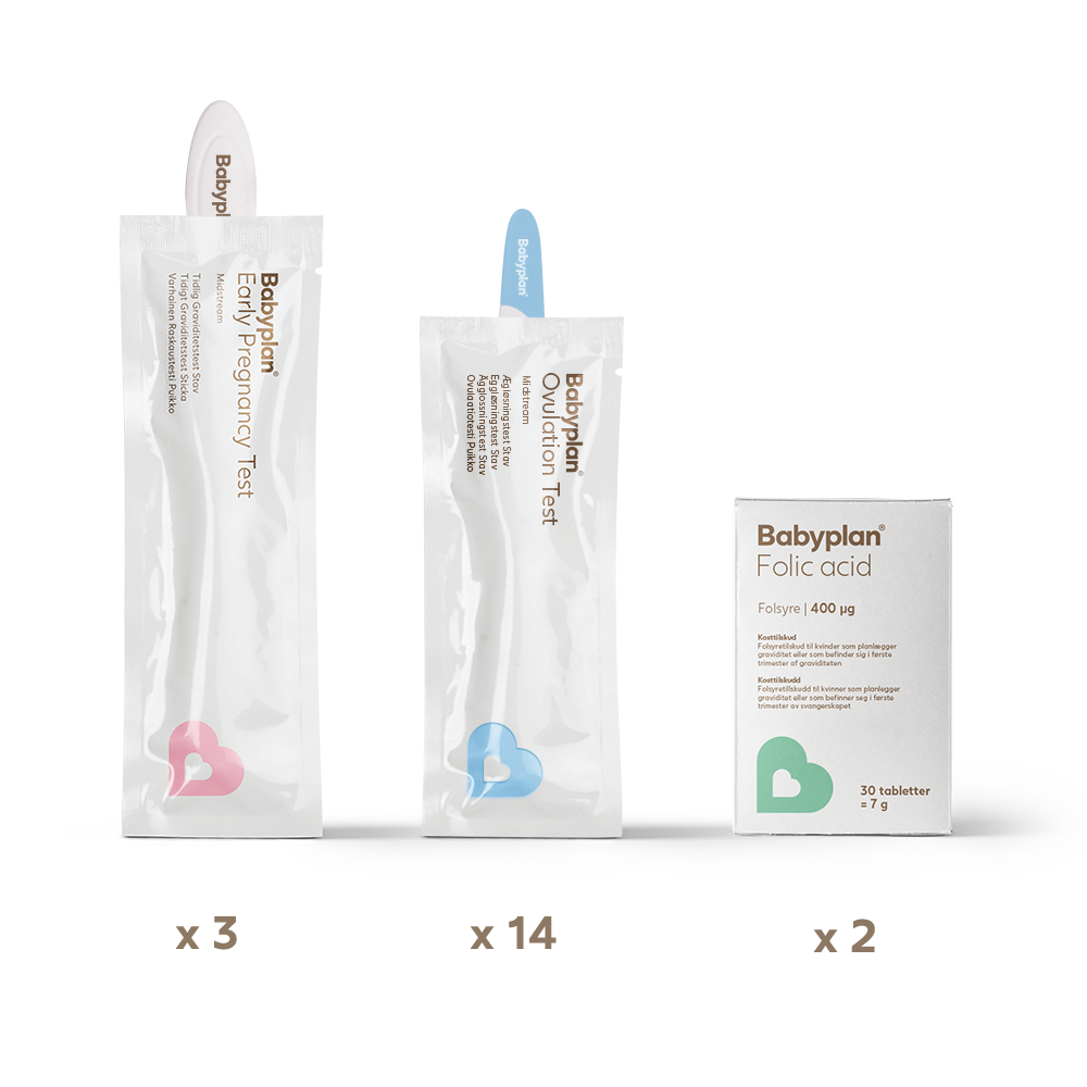Babyplan test set midstream